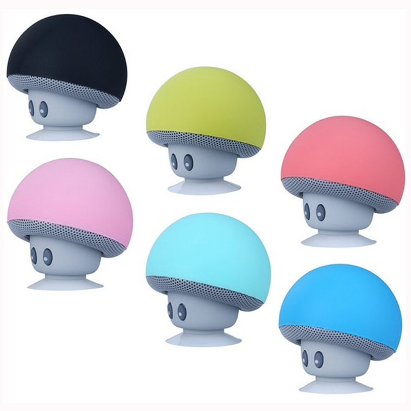 Popular portable mini mushroom bluetooth speaker PW-BSA02