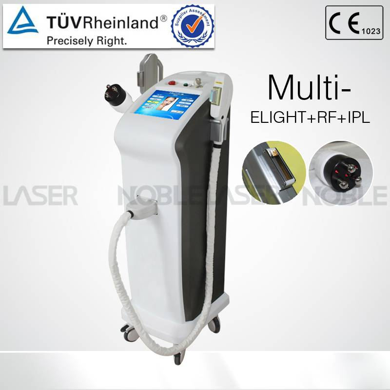Multi function elight ipl RF slimming and hair removal