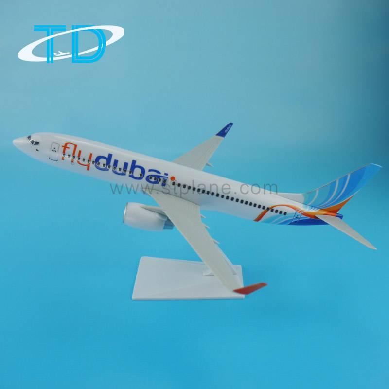 "B737-800(27cm) ""Flydubai""1/150 scale model new aircraft for sale"