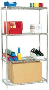 Adjustable Light Duty Warehouse Metal Storage Rack
