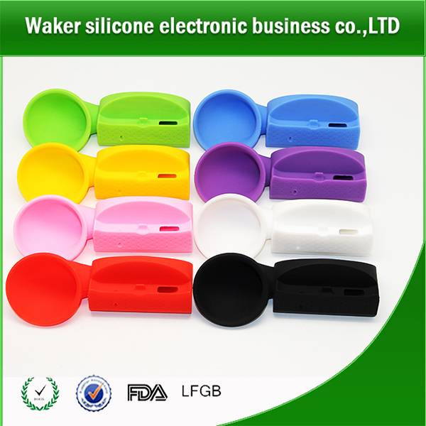Silicone phone amplifier