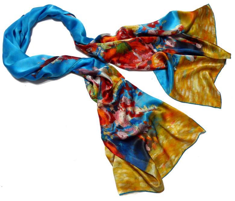 Free Sample Silk Shawl