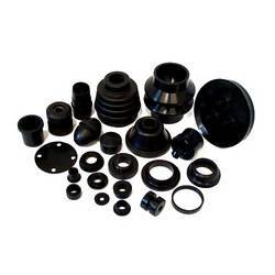 Molded rubber part