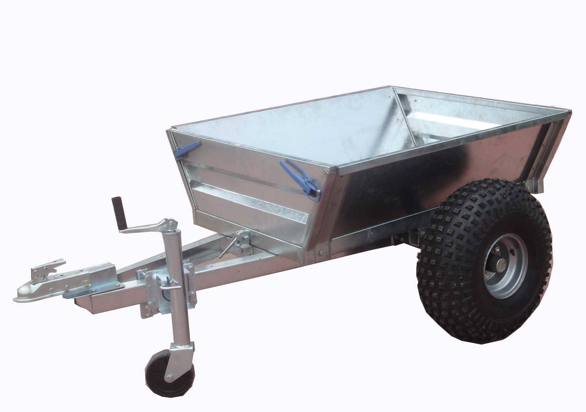 New Utility Trailer ! Box trailer and timber trailer in one!!!