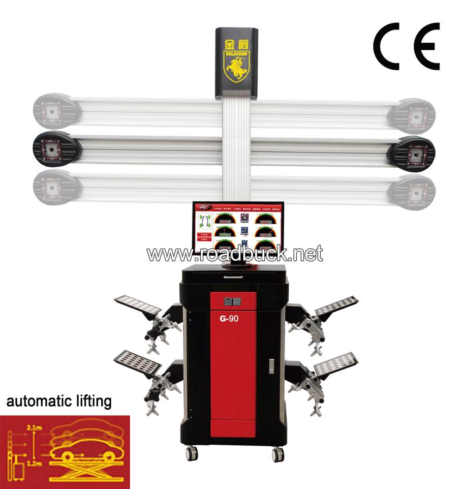 Road Buck 3D wheel alignment machine