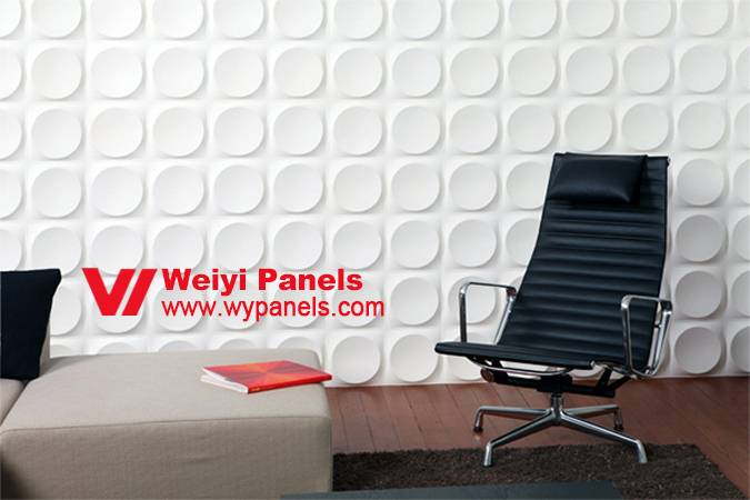 MDF 3D Sculptured Wall Panels- Decorative Wall Panels WY-213