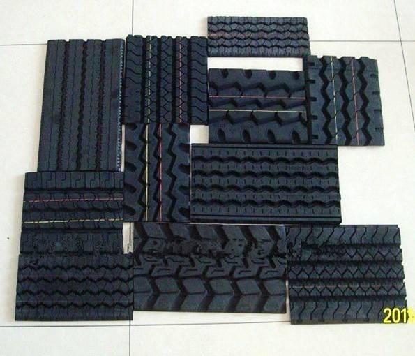 Precured Tread Rubber for Truck
