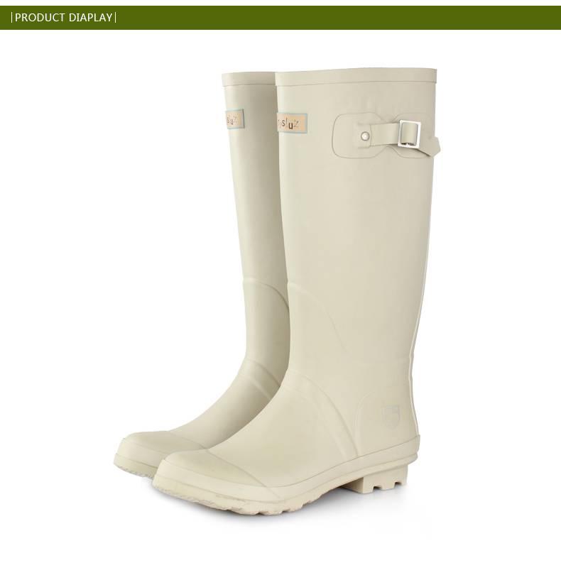 Manufacturer ladies rubber rain boots