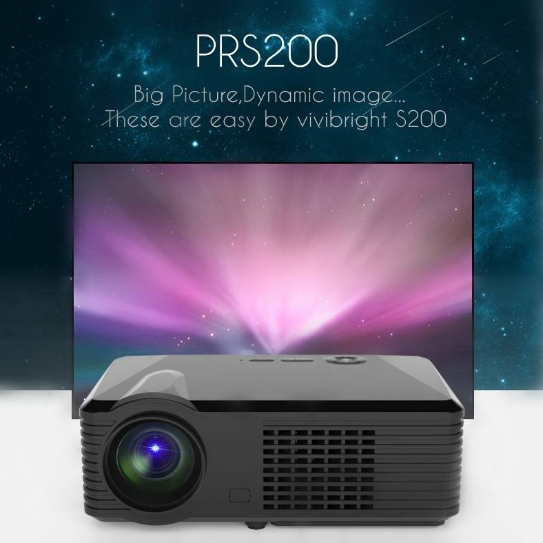 PRS200 simplebeamer led 1080P