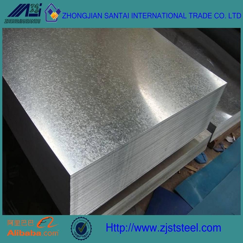 dx52d z140 galvanized steel plate sheet