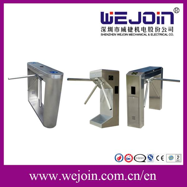 Semi-automatic Tripod Turnstile/One Side Swiping Card/the Other Side Free Passing