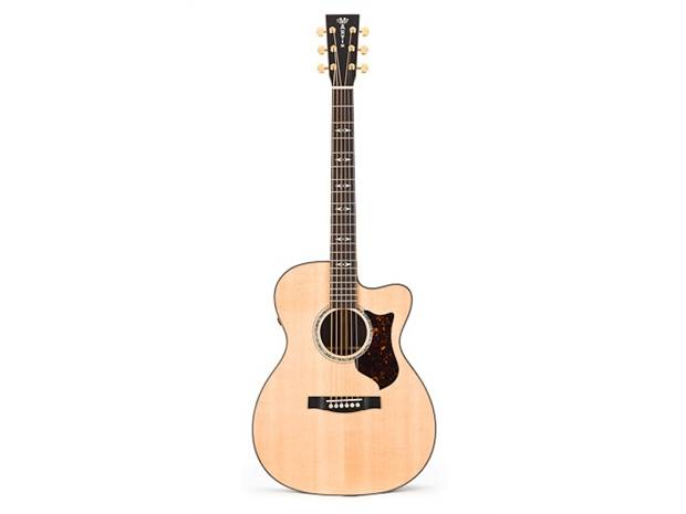 Celebrity® Elite Plus, Mid-Depth Cutaway, Figured Koa Guitar