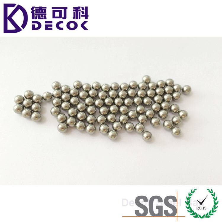 stainless steel ball bearing 4.75mm