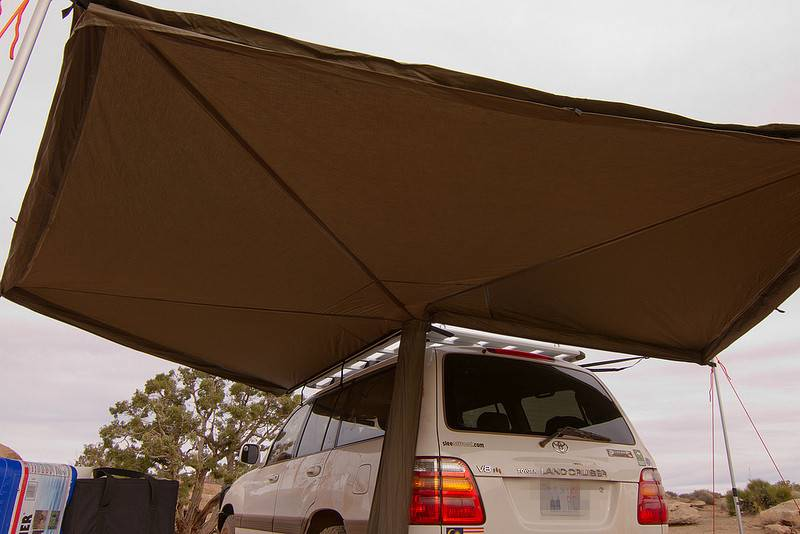 Car Foxwing Awning