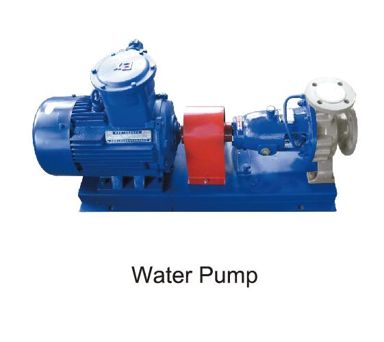 water pump of mixing plant