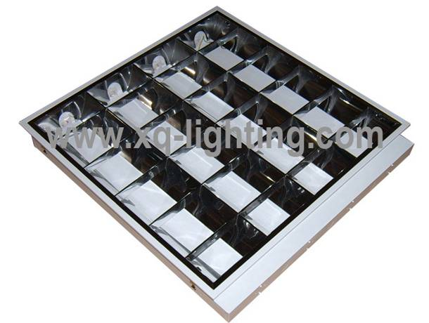 T8 4x18w grille lamp recessed type