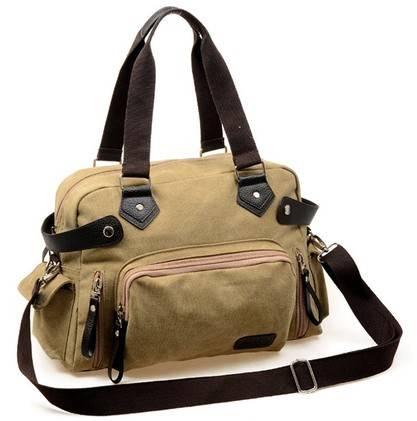 fashion men's canvas sling bag,handbag 2014