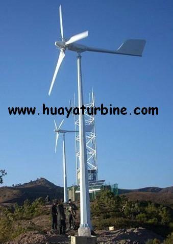 Pitch controlled wind turbine 3kw 5kw, 10kw 20kw 30kw 50kw