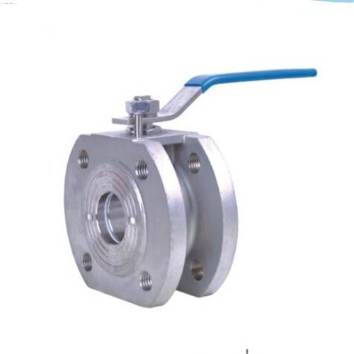 wafer type thinner flange ball valve