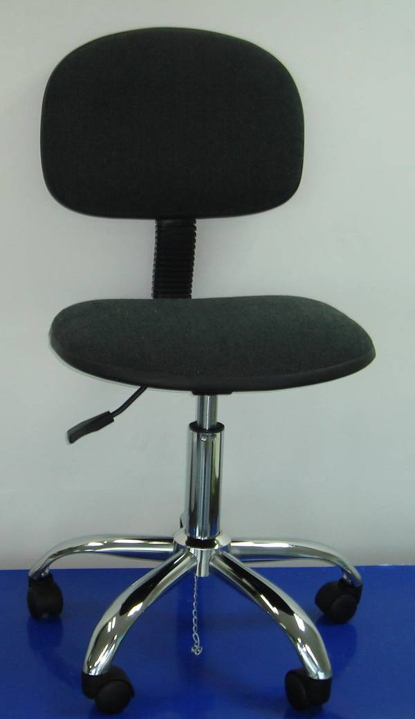 ESD Fabirc Chair with rubber edge