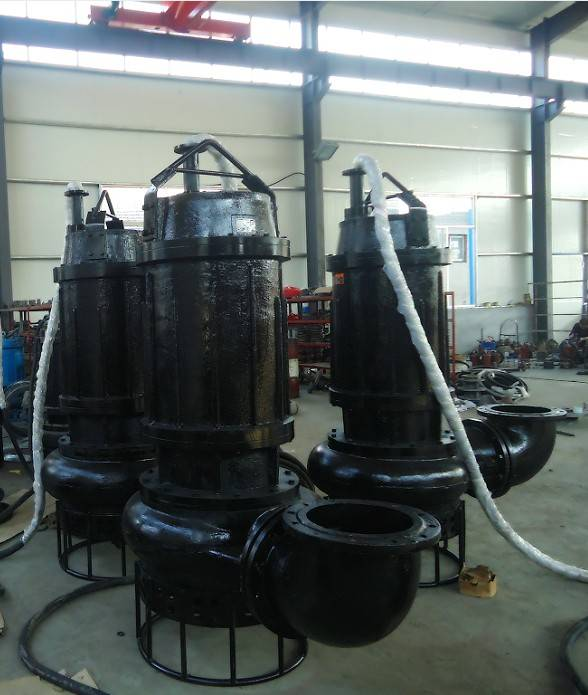 75kw/90kw/112kw/132kw Submersible Sand Pump
