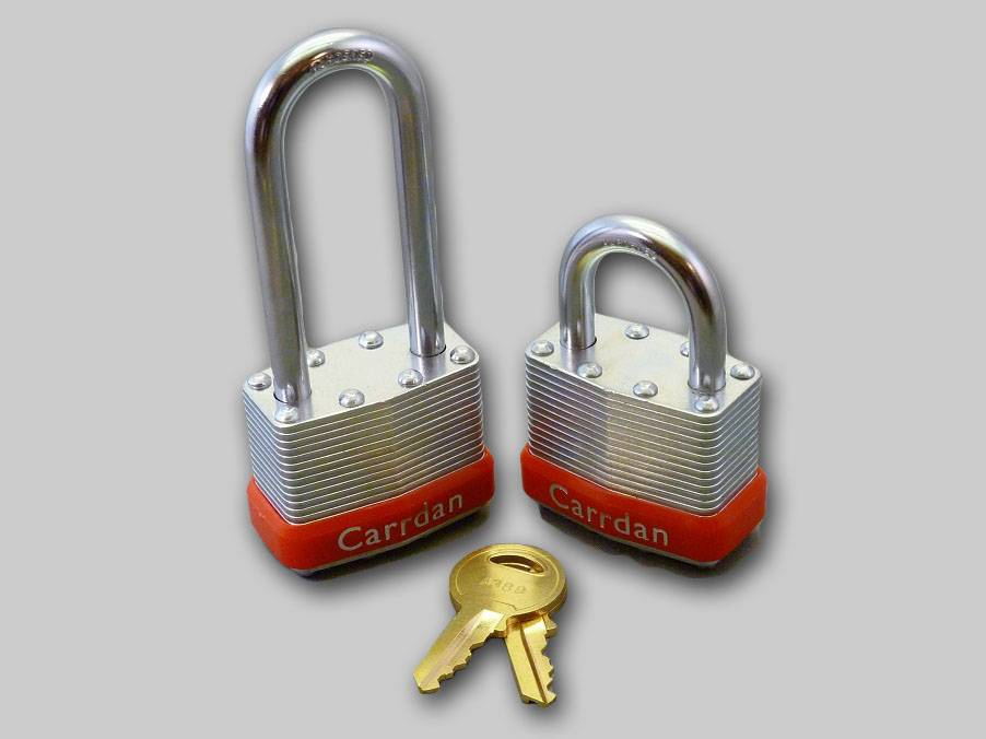 High Security, Long Laminated Padlocks, Safe Lock for Industry