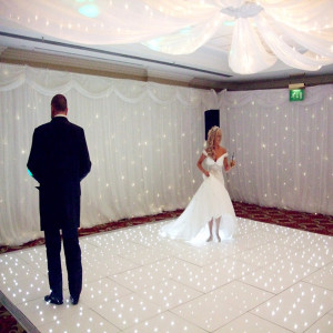 LED starlit dance floor