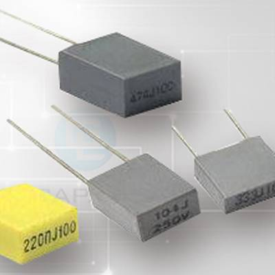 Mini Box Metallized Polyester Film Capacitor