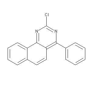 2-chloro-4-phenylbenzo[h]quinazoline