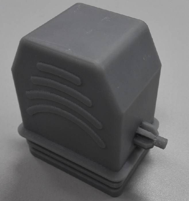 The SLA photosensitive resin 3D Printing, perfect molding connector shell