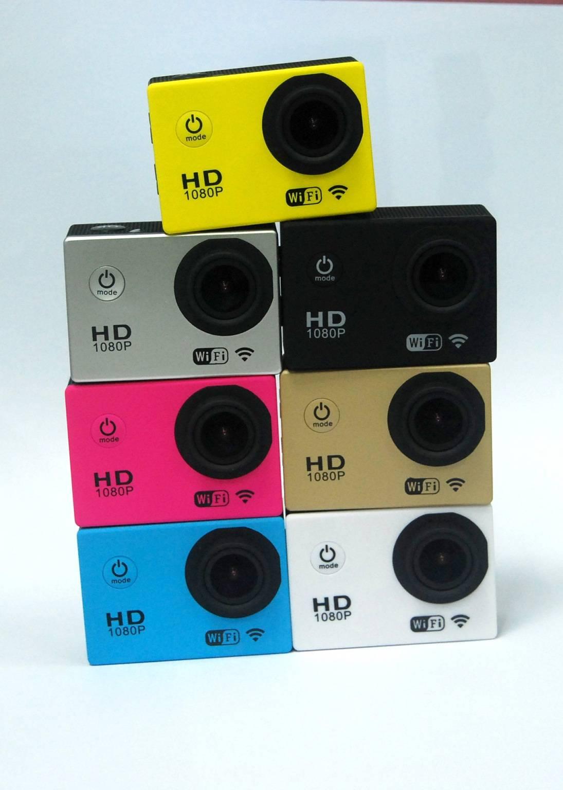 Original Sj4000 WiFi Waterproof Sports DV Full HD Helmet Camera Camcorder Gopro Style 1080P12MP H264