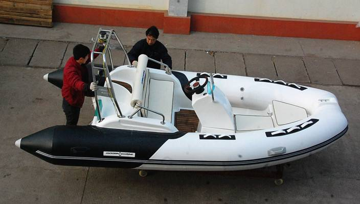 430A rigid inflatable boat yacht tender