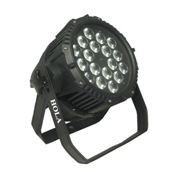 High performance 18x10W LED Par Light Waterproof IP65