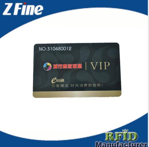 chip card with thermal number