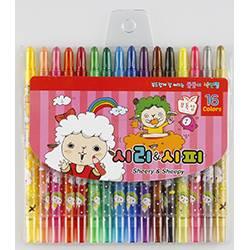 Sheery&Sheppy 16 color pencil