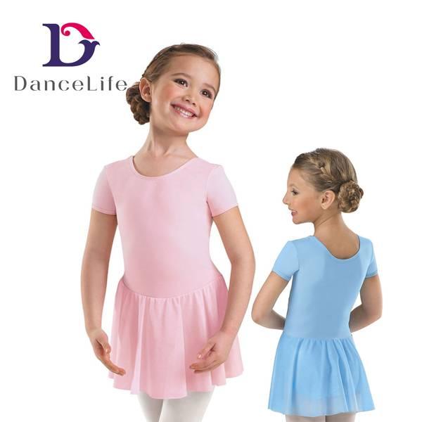 short sleeve ballet dress