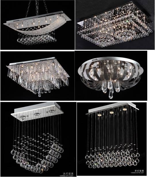 Modern Crystal Ceiling light