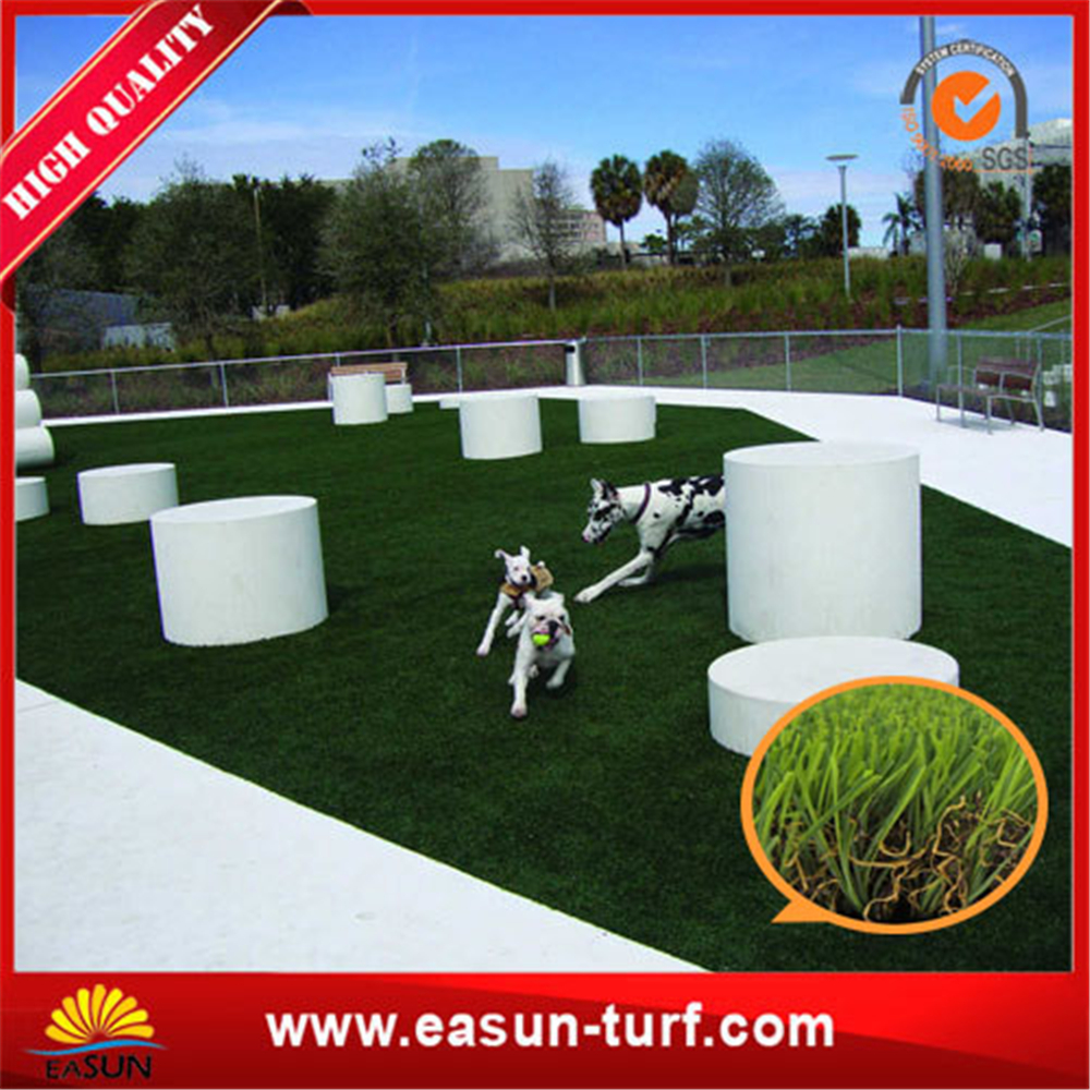 Fireproof PE material artificial lawn grass for landscaping-ML