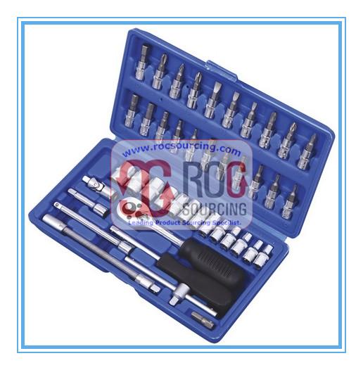 High Quality 46PCS Socket Set Socket Wrench Other Tool Set Tool kit Tool box Hand tool