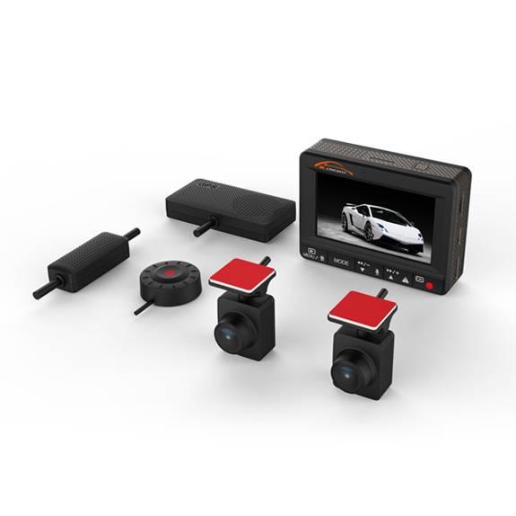 1080p 2ch hidden car dvr Dash Cam (K1S)
