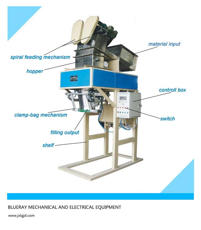 25kg Coca3 powder packing machine in factory price
