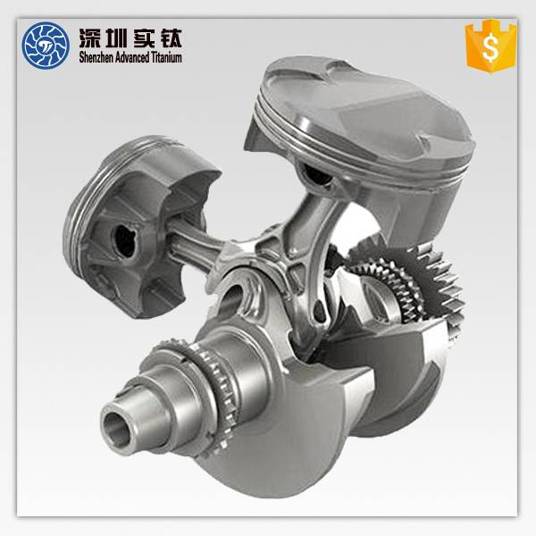 Titanium based superalloy automotive engine gears