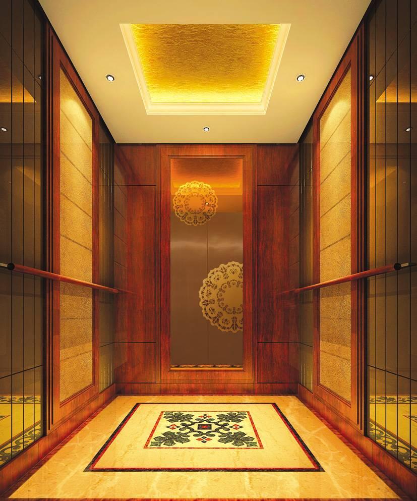 Passenger elevator lift