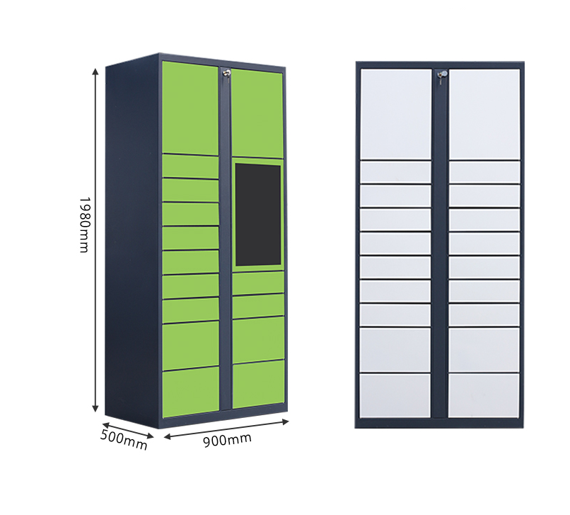 Package concierge locker for apartments smart parcel delivery pickup//Steel material China parcel lo