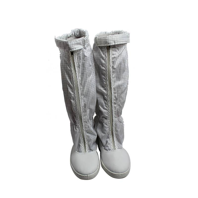 PVC Anti Static Overshoes For Cleanroom Protective Human