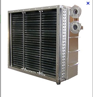 thermal oil to air fin tube heaters and heat exchangers