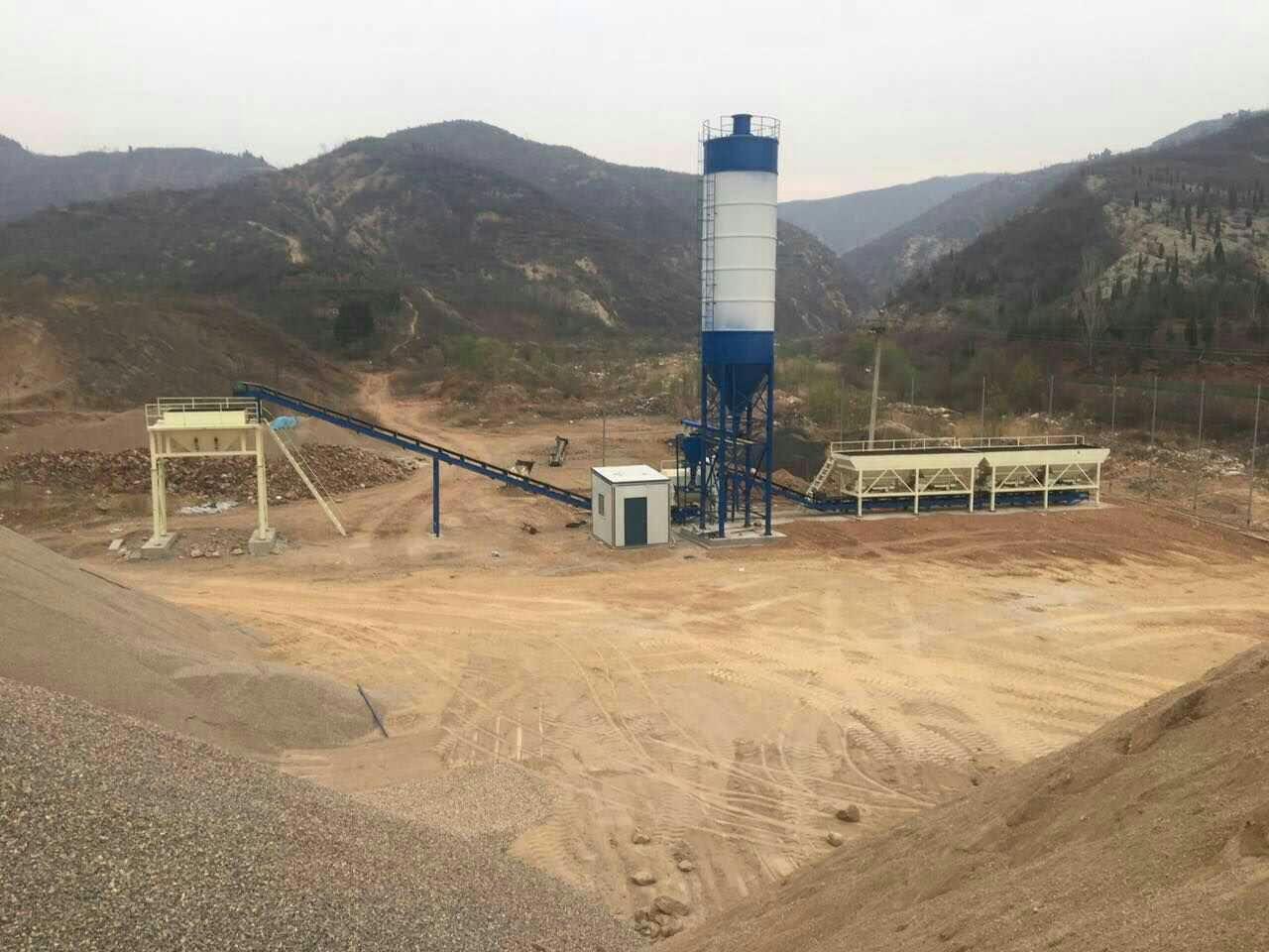 35m³/h Concrete Mixing Plant