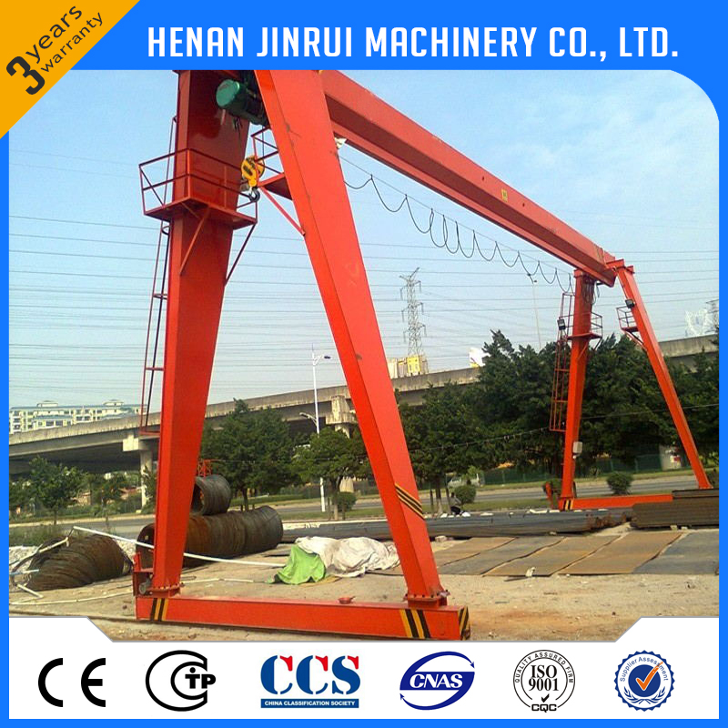 3 ton small light duty single beam gantry crane price