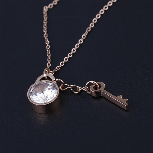 Girls Stainless Steel Necklaces Pendant