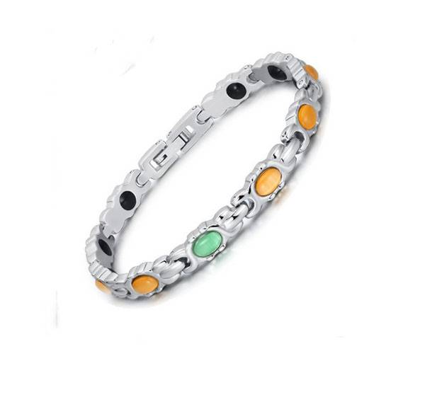 2016 new product stainless steel bio magnrtic friendship bracelets